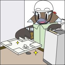 洗濯機パンの設置、交換